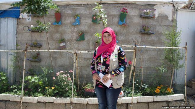 Los jardines en campos de refugiados que traen esperanzas