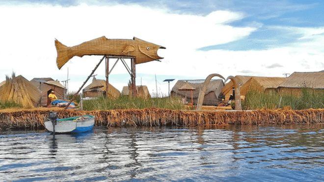 Perú quiere dominar el negocio de las islas flotantes